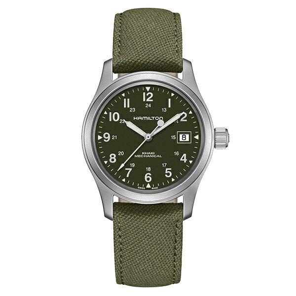 正規品 HAMILTON ハミルトン H69439363 カーキ フィールド メカ 38mm 80時間パワーリザーブ 腕時計