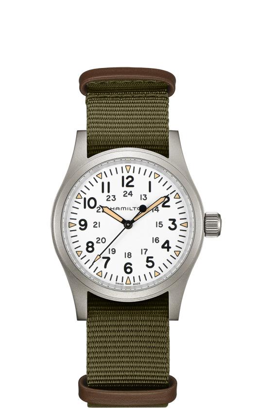 正規品 HAMILTON ハミルトン H69439411 カーキ フィールド メカ 38mm 80時間パワーリザーブ 腕時計