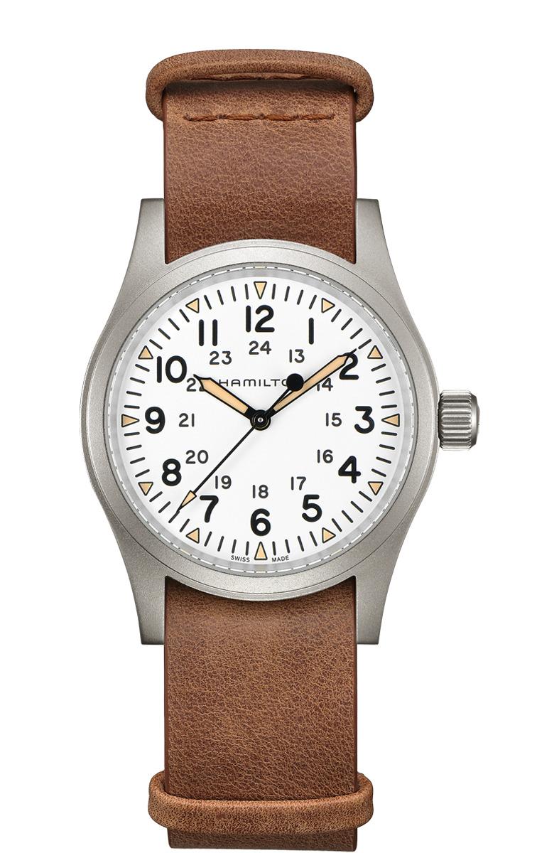 ハミルトン HAMILTON H69439511 カーキ フィールド メカ 38mm 80時間パワーリザーブ 正規品 腕時計