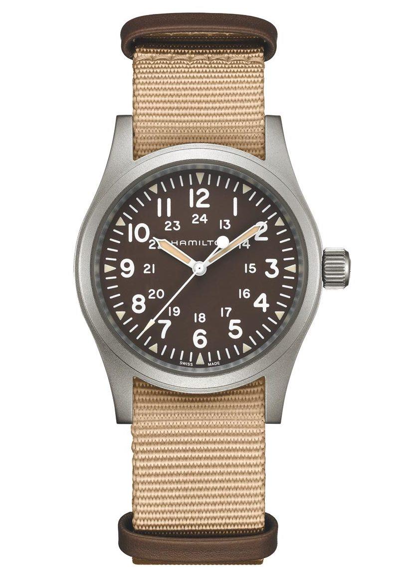 正規品 HAMILTON ハミルトン H69439901 カーキ フィールド メカ 38mm 80時間パワーリザーブ 腕時計