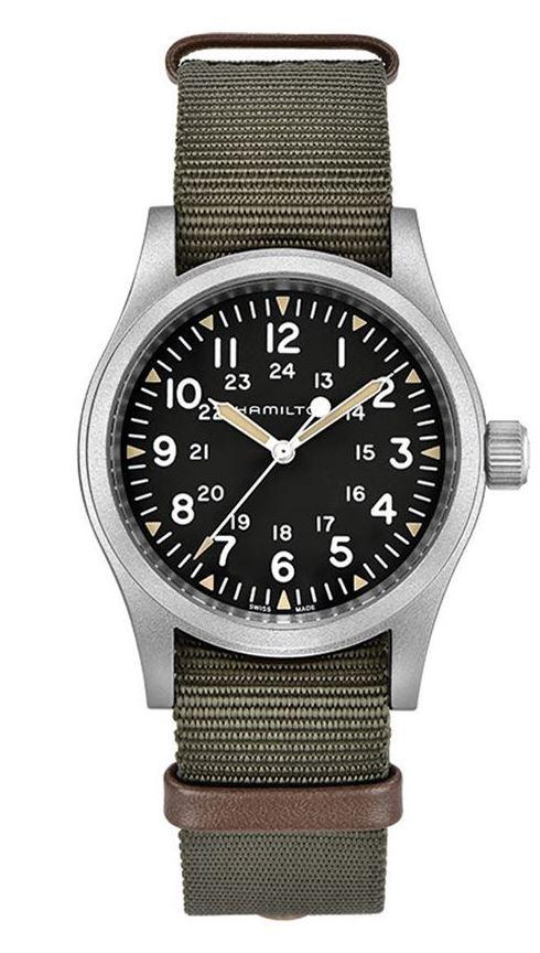 ハミルトン HAMILTON H69439931 カーキ フィールド メカ 38mm 80時間パワーリザーブ 正規品 腕時計