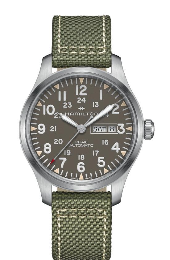 正規品 HAMILTON ハミルトン H70535081 カーキ フィールド デイデイト オート 腕時計