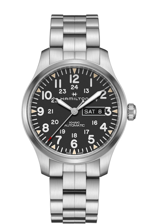 ハミルトン HAMILTON H70535131 カーキ フィールド デイデイト オート 正規品 腕時計