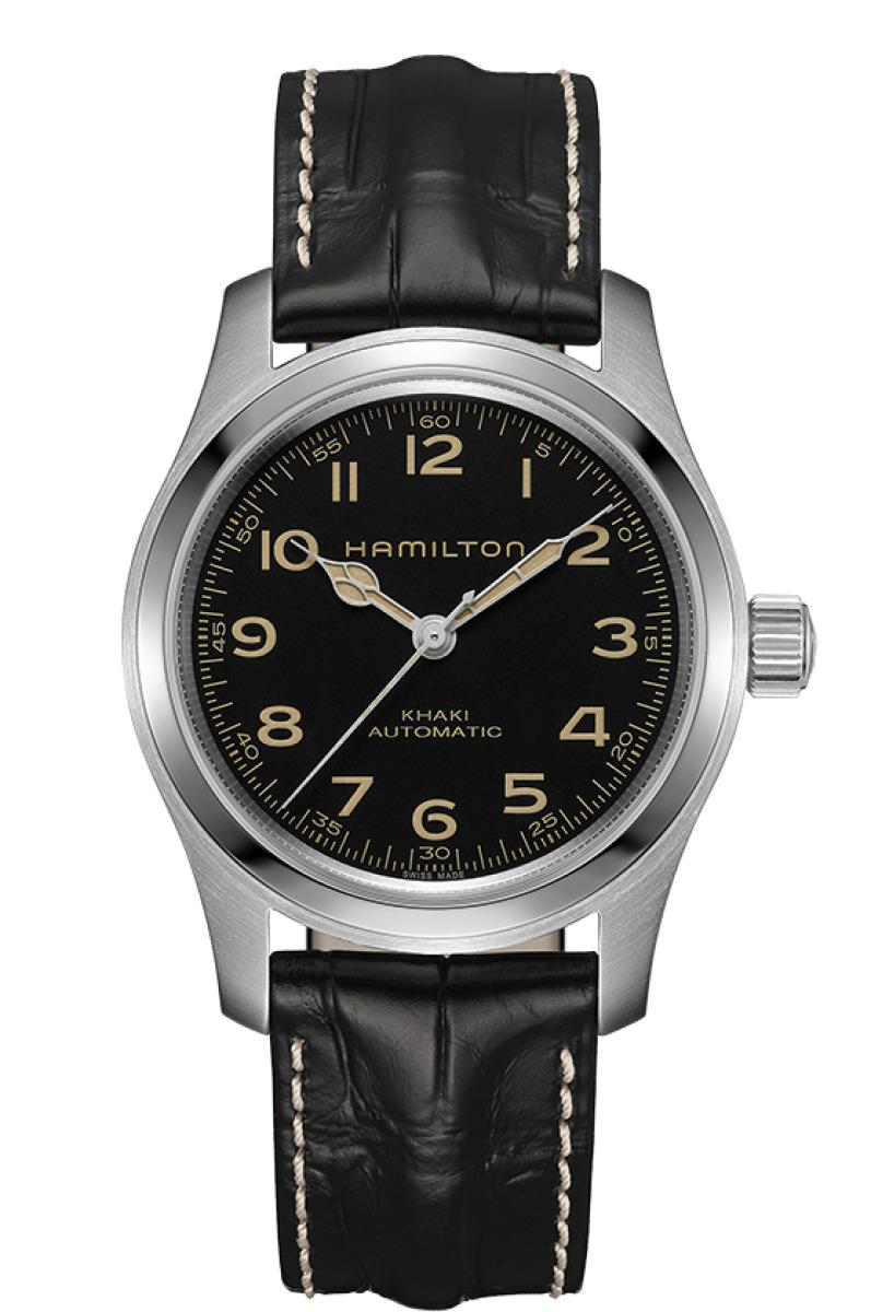 ハミルトン HAMILTON H70605731 カーキ フィールド マーフ オート 42mm スタンダードBOX版 正規品 腕時計