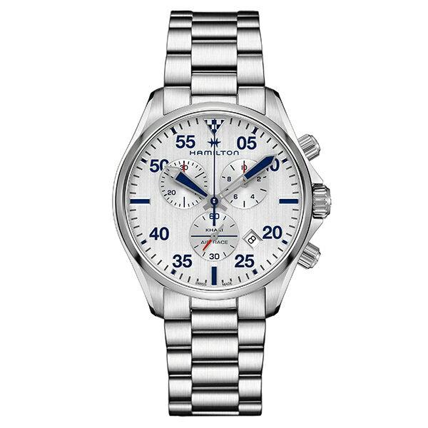 ハミルトン HAMILTON H76712151 カーキ パイロット クロノ クォーツ 正規品 腕時計