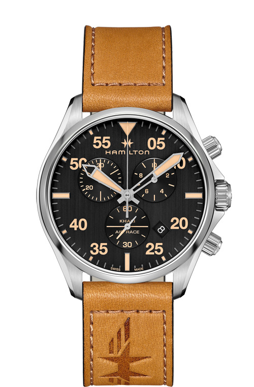 ハミルトン HAMILTON H76722531 カーキ パイロット クロノ クォーツ 正規品 腕時計