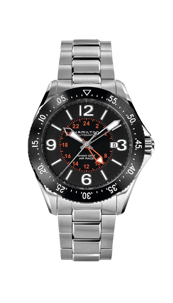 正規品 HAMILTON ハミルトン H76755131 カーキ パイロット GMT 腕時計