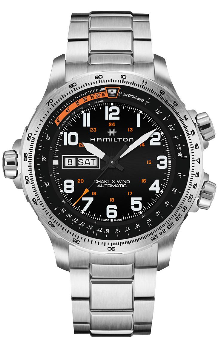 ハミルトン HAMILTON H77755133 カーキ X-ウィンド デイデイト オート 正規品 腕時計