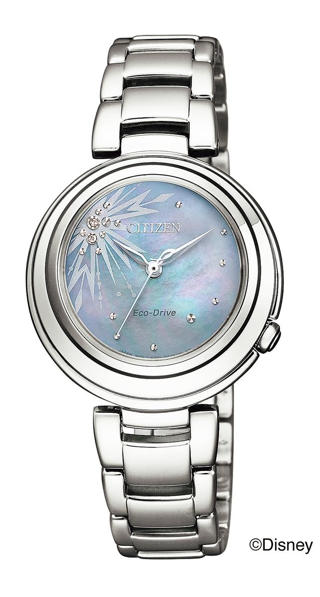 正規メーカー延長保証付き 正規品 CITIZEN L シチズン エル EM0580-58N Frozen II ELSA 腕時計