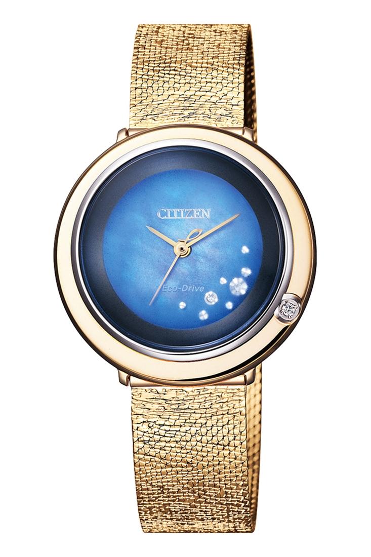 正規品 CITIZEN L Ambiluna シチズン エル アンビリュナ EM0648-81N 世界限定1500本 ブレスレット付 腕時計