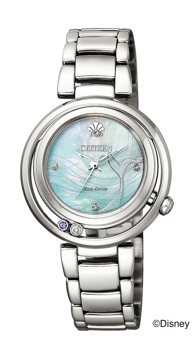正規メーカー延長保証付き 正規品 CITIZEN L シチズン エル EM0820-56N The Little MERMAID ARIEL 腕時計