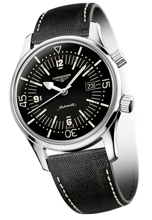 ロンジン LONGINES L3.674.4.50.0 Heritage The Longines Legend Diver Watch ヘリテージ ロンジン レジェンドダイバー 正規品 腕時計