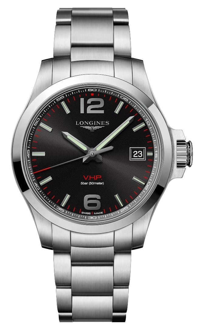 ロンジン LONGINES L3.716.4.56.6 コンクエスト V.H.P. 正規品 腕時計
