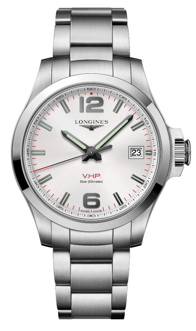 特価 ロンジン LONGINES LONGINES 腕時計 L3.716.4.76.6 正規品 コンクエスト V.H.P. 正規品 腕時計, 横須賀市:dc15b61d --- experiencesar.com.ar