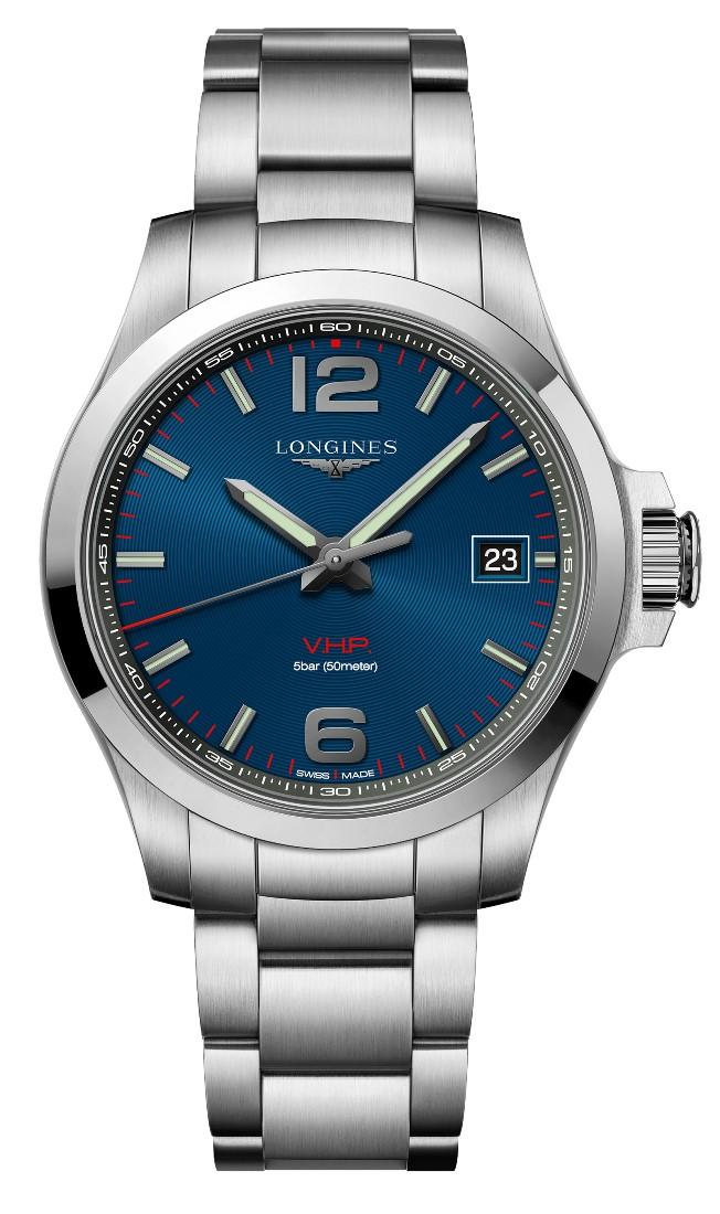 ロンジン LONGINES L3.716.4.96.6 コンクエスト V.H.P. 正規品 腕時計