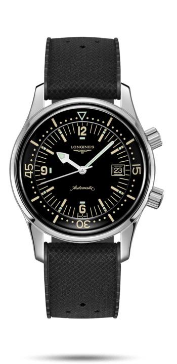 ロンジン LONGINES L3.774.4.50.9 ヘリテージ レジェンドダイバー 正規品 腕時計