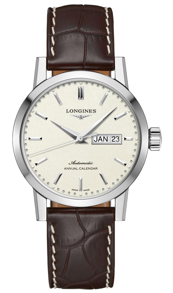 ロンジン LONGINES L4.827.4.92.2 ロンジン1832 正規品 腕時計