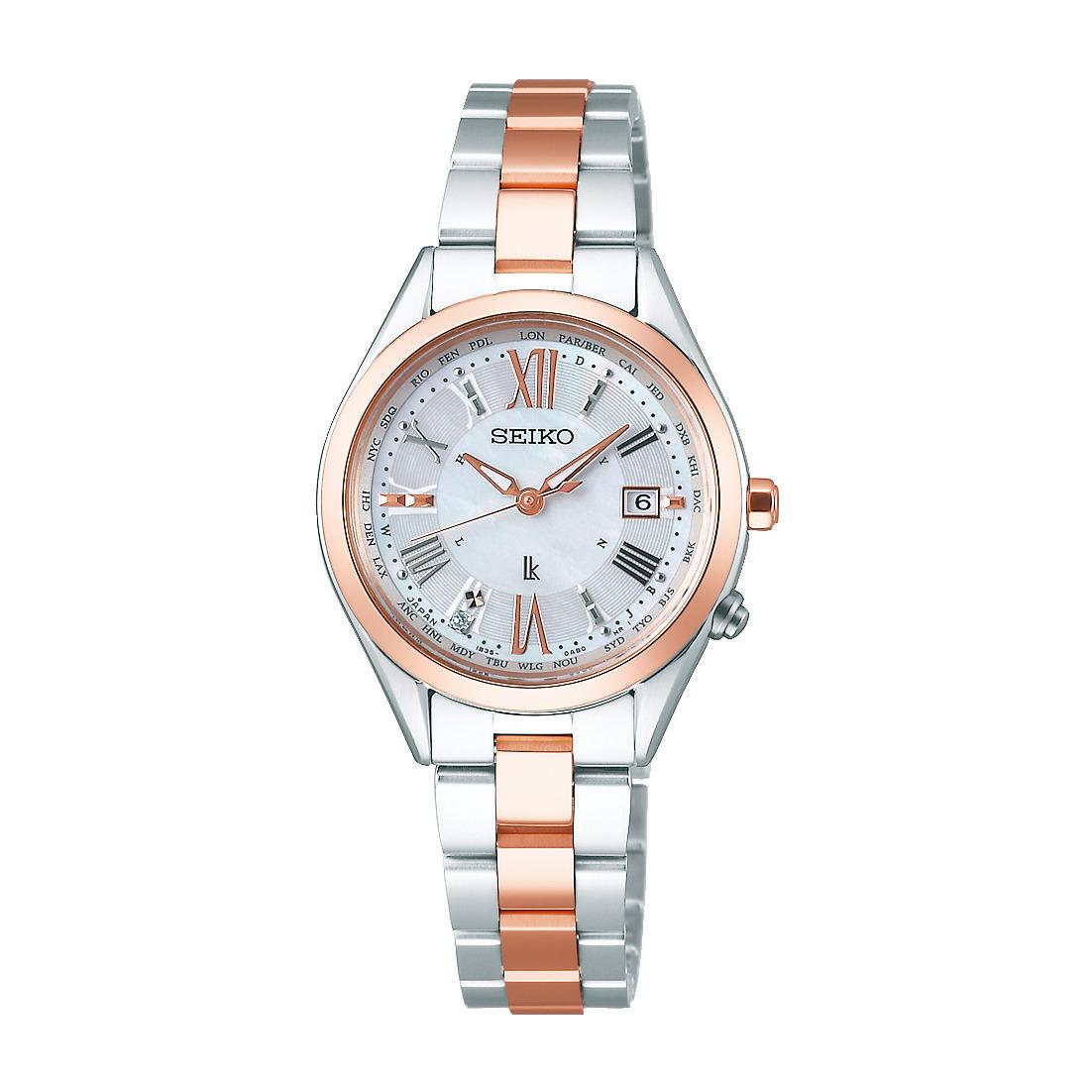 ルキア LUKIA セイコー SEIKO SSQV040 ソーラー電波 正規品 腕時計