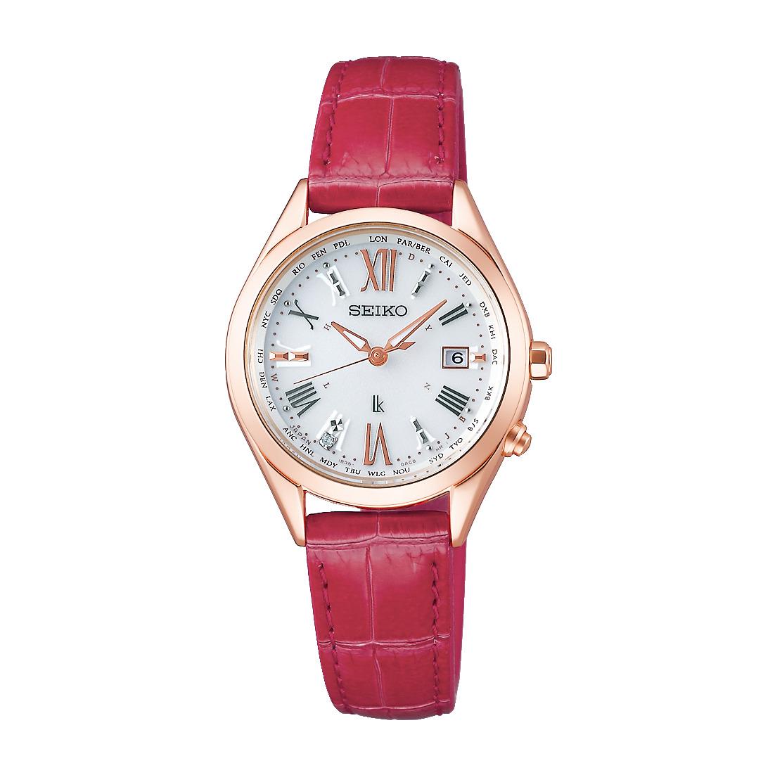 ルキア LUKIA セイコー SEIKO SSQV042 ソーラー電波 正規品 腕時計