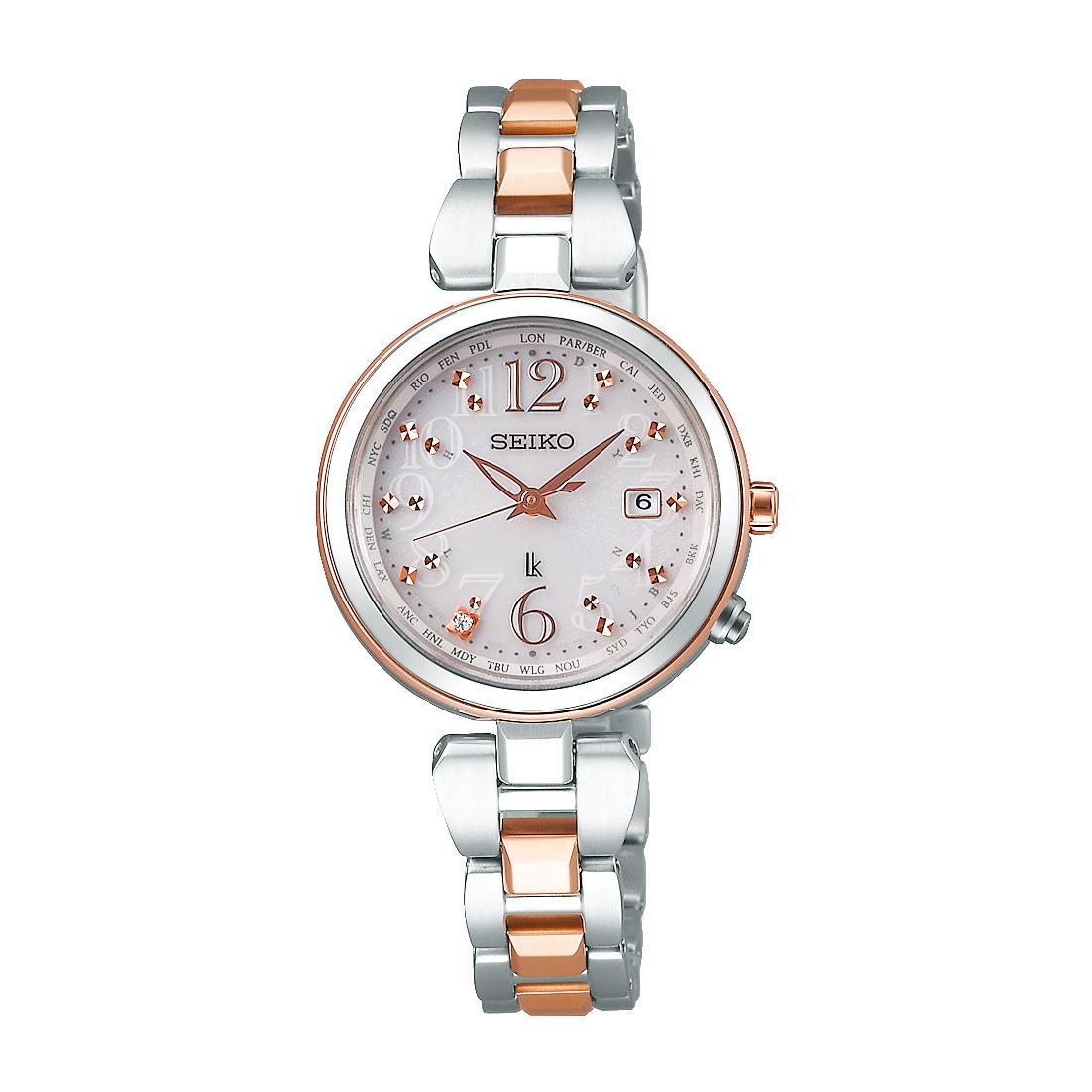 ルキア LUKIA セイコー SEIKO SSQV048 ソーラー電波 正規品 腕時計