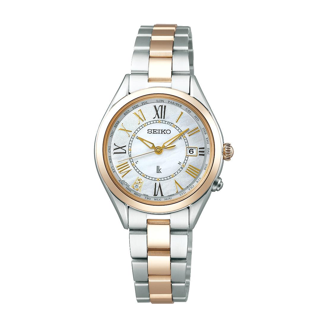 ルキア LUKIA セイコー SEIKO SSQV066 ソーラー電波 正規品 腕時計