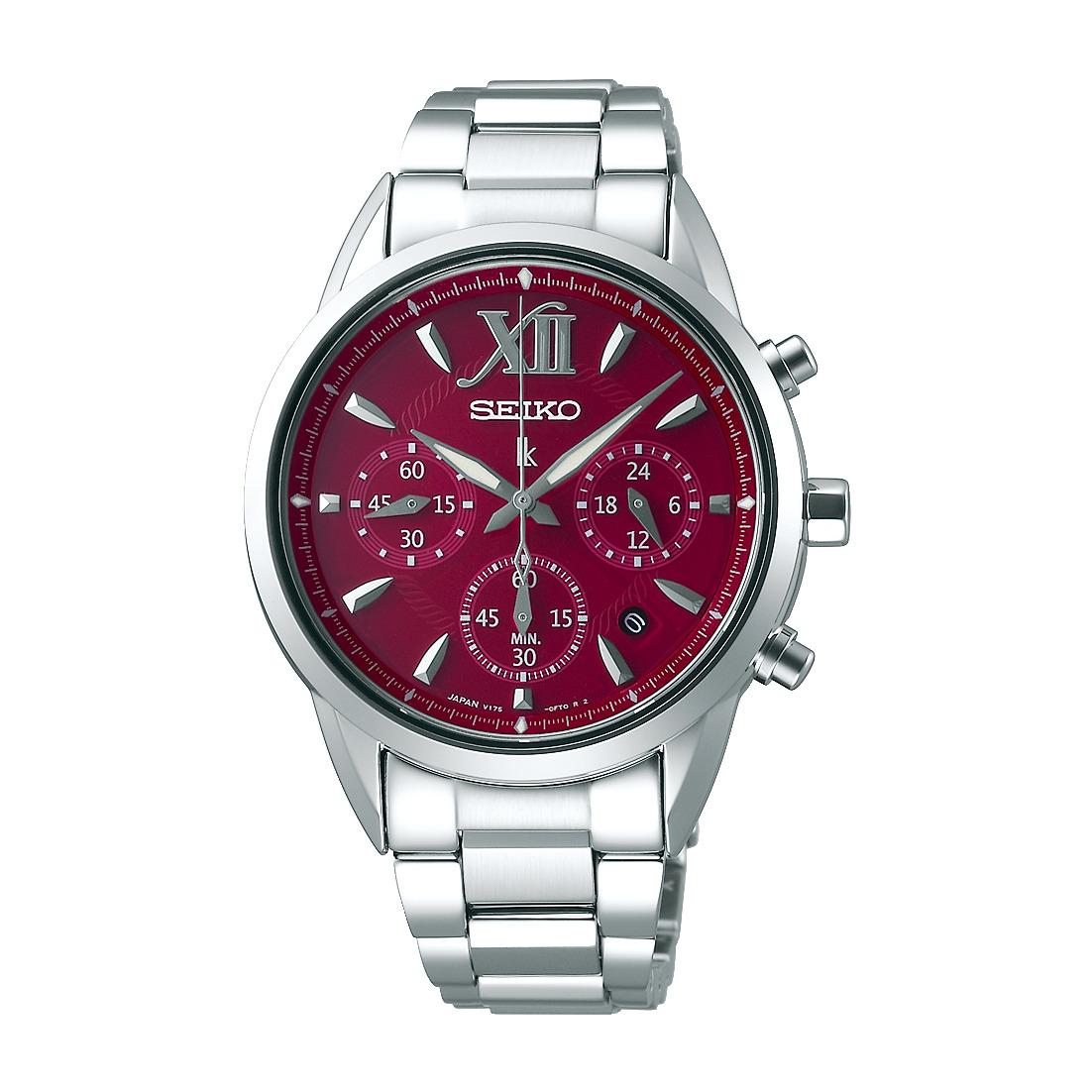 ルキア LUKIA セイコー SEIKO SSVS039 ソーラー クロノグラフ 正規品 腕時計