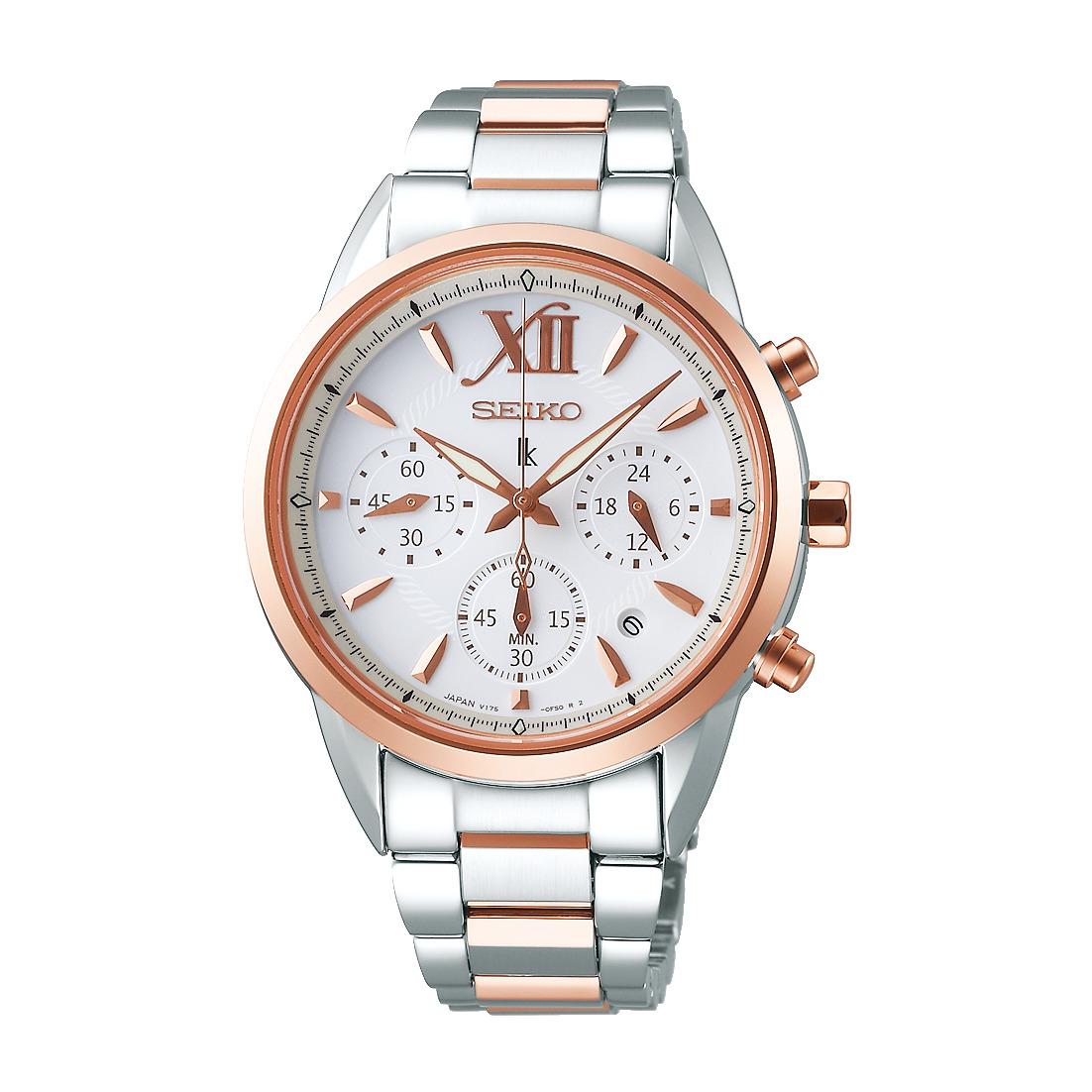 ルキア LUKIA セイコー SEIKO SSVS040 ソーラー クロノグラフ 正規品 腕時計
