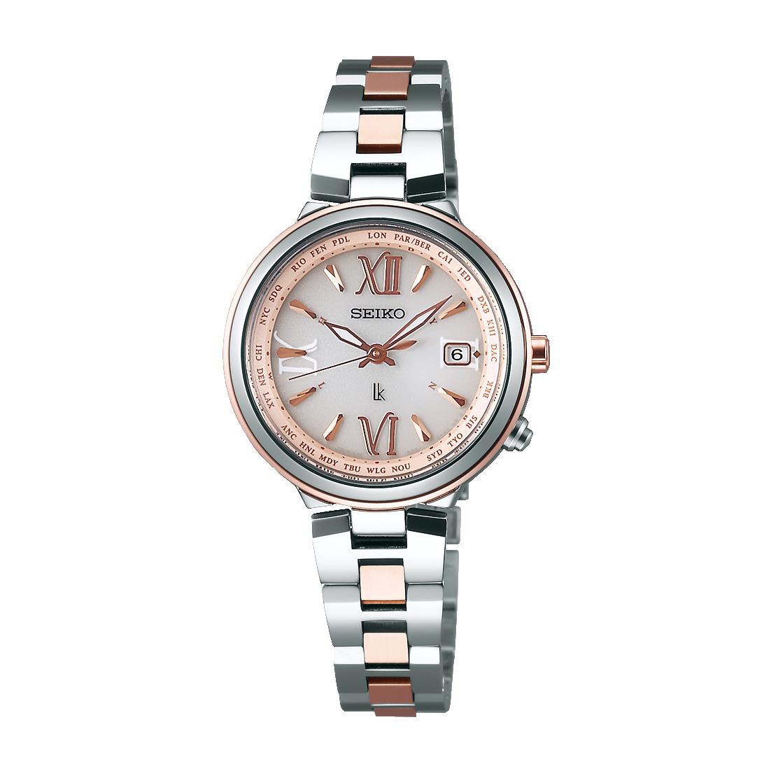 ルキア LUKIA セイコー SEIKO SSVV020 ソーラー電波 正規品 腕時計