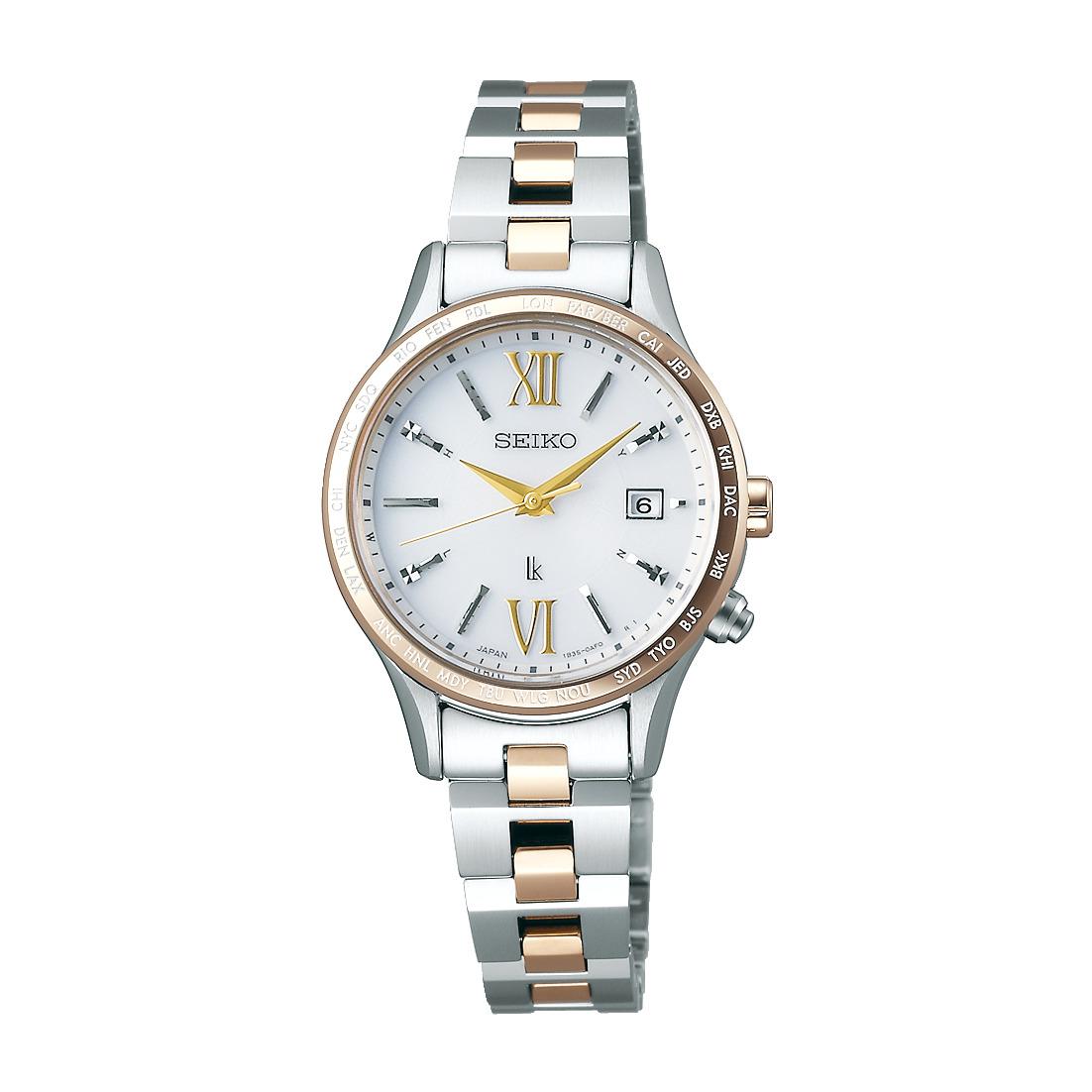 ルキア LUKIA セイコー SEIKO SSVV042 ソーラー電波 正規品 腕時計