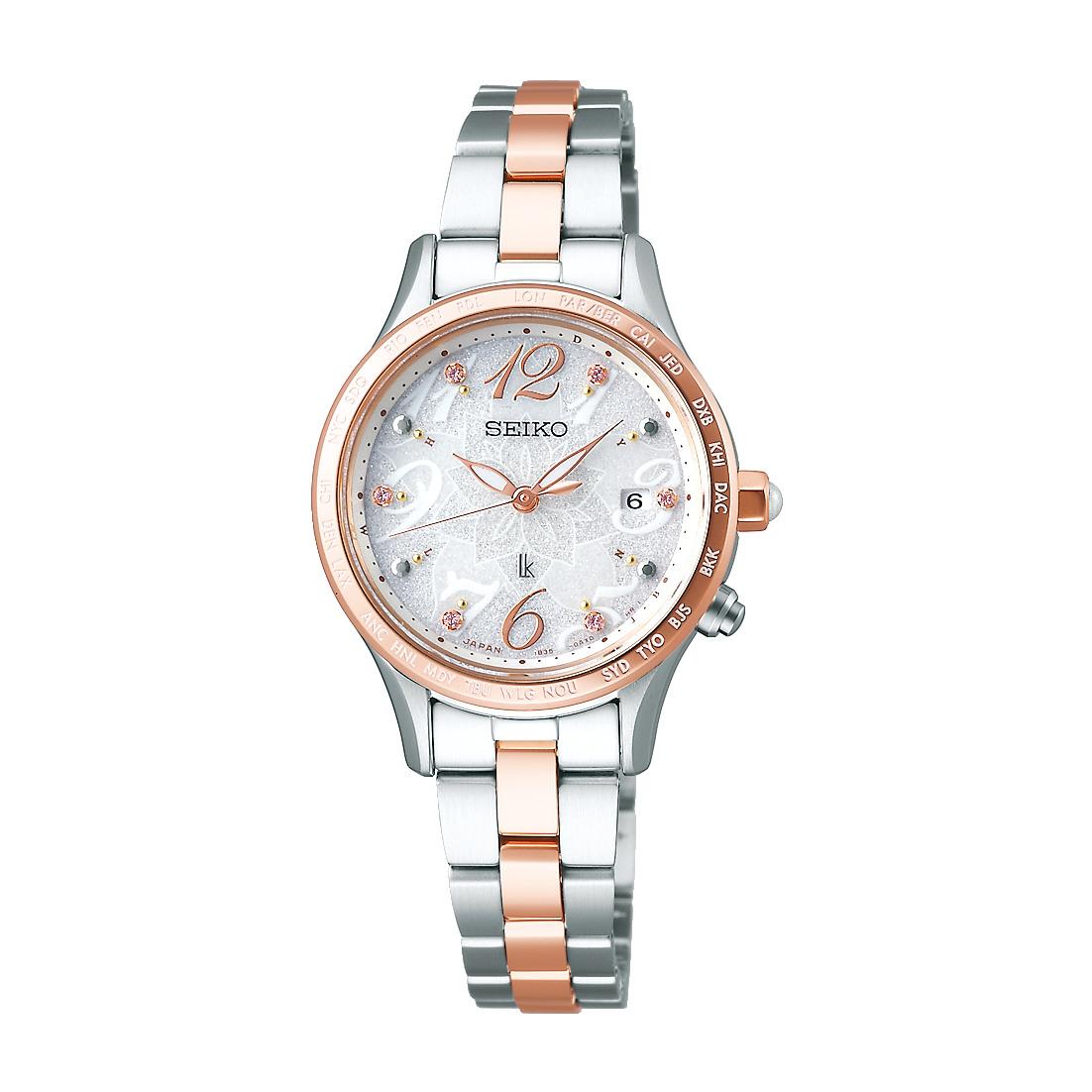 ルキア LUKIA セイコー SEIKO SSVV044 ソーラー電波 2019 クリスマス限定モデル 限定3000本 正規品 腕時計