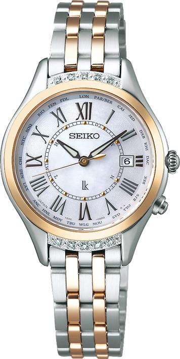 ルキア LUKIA セイコー SEIKO SSVV056 ソーラー電波 正規品 腕時計