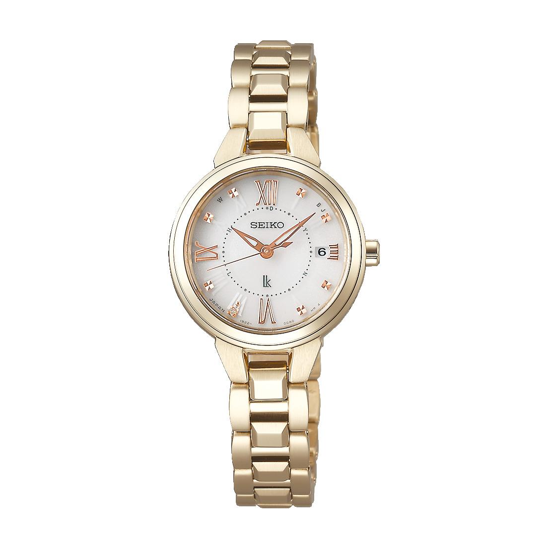 ルキア LUKIA セイコー SEIKO SSVW148 ソーラー電波 正規品 腕時計