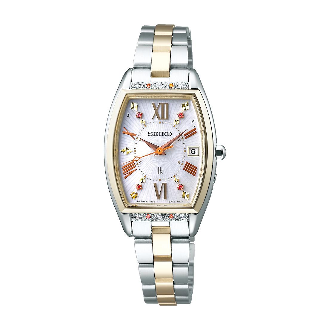 ルキア LUKIA セイコー SEIKO SSVW152 ソーラー電波 ピエール・エルメ プロデュース 限定モデル (Satine) 限定1000本 正規品 腕時計