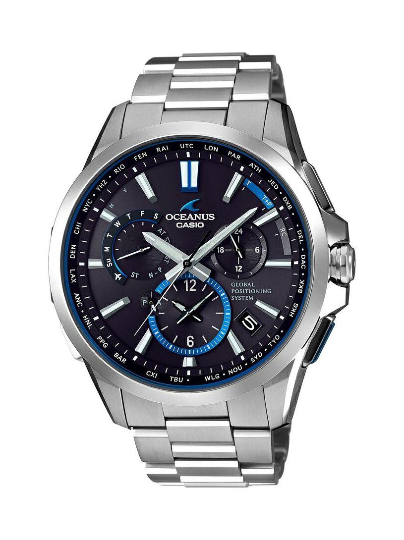 オシアナス OCEANUS カシオ CASIO OCW-G1100T-1AJF GPSハイブリッド電波ソーラー 正規品 腕時計