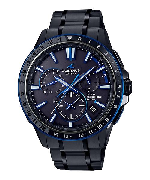 正規品 CASIO カシオ OCEANUS オシアナス OCW-G1200B-1AJF GPSハイブリッド電波ソーラー 腕時計