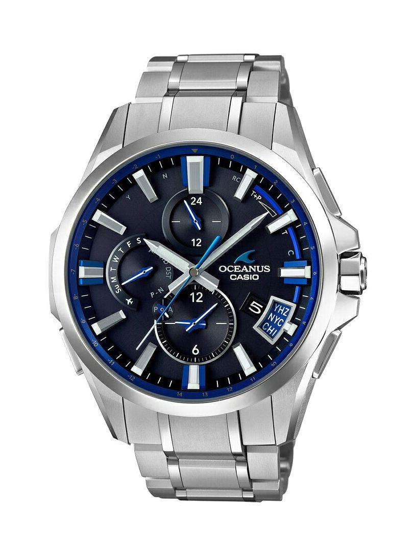 オシアナス OCEANUS カシオ CASIO OCW-G2000-1AJF Bluetooth搭載GPS電波ソーラー 正規品 腕時計