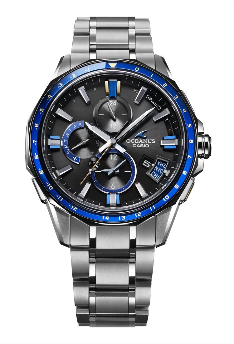 正規品 CASIO カシオ OCEANUS オシアナス OCW-G2000G-1AJF Bluetooth搭載GPS電波ソーラー 腕時計