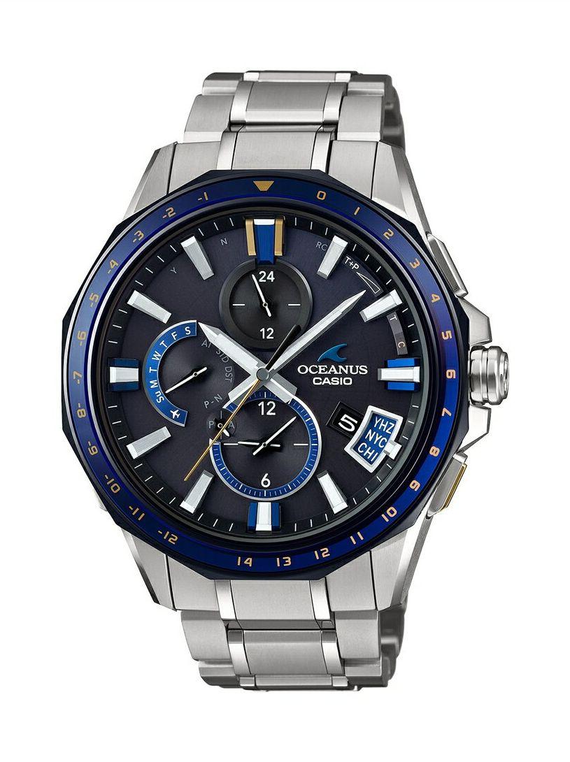 オシアナス OCEANUS カシオ CASIO OCW-G2000G-1AJF Bluetooth搭載GPS電波ソーラー 正規品 腕時計