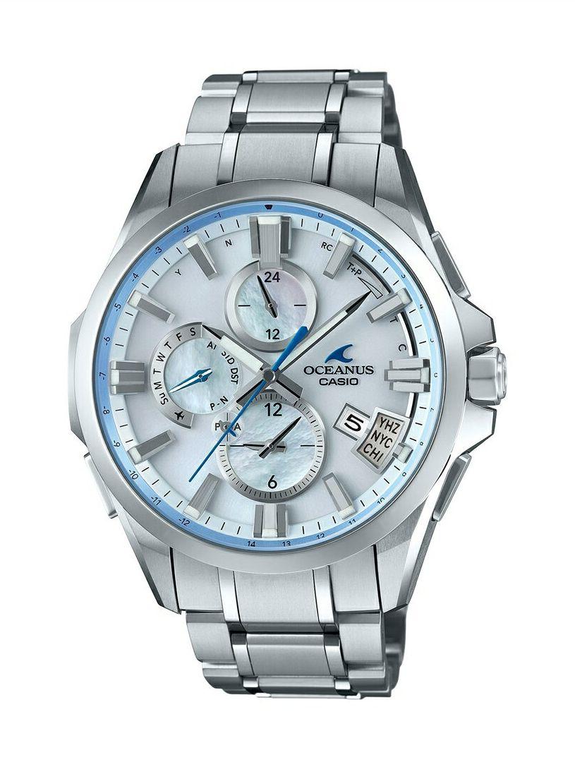オシアナス OCEANUS カシオ CASIO OCW-G2000H-7AJF Bluetooth搭載GPS電波ソーラー 正規品 腕時計