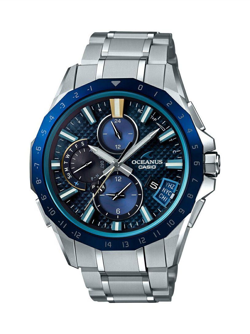 正規品 CASIO カシオ OCEANUS オシアナス OCW-G2000RA-1AJF Bluetooth搭載GPS電波ソーラー 腕時計