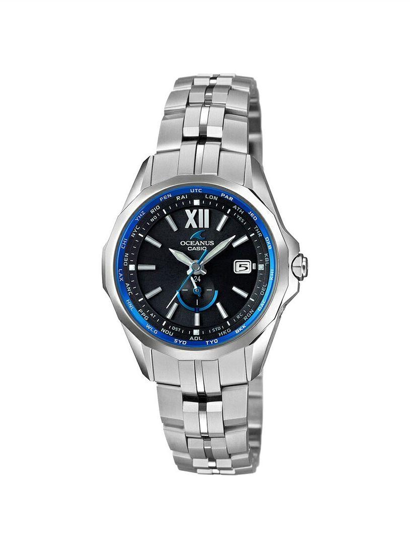 正規品 CASIO カシオ OCEANUS オシアナス OCW-S340-1AJF Manta Ladies マンタ レディース 腕時計
