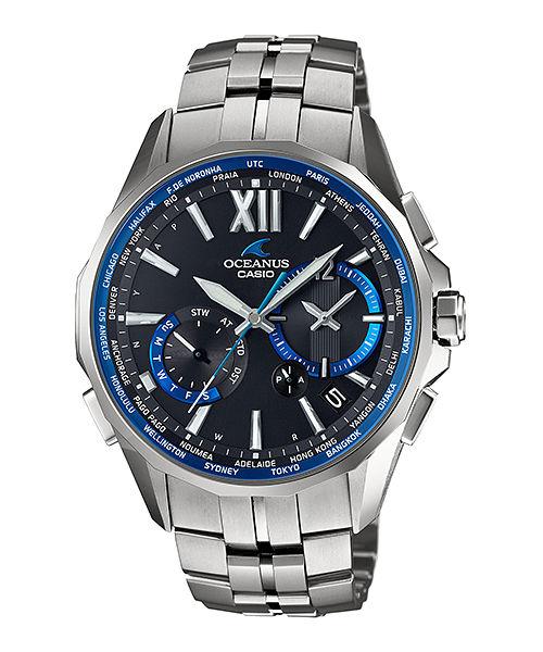 正規品 CASIO カシオ OCEANUS オシアナス OCW-S3400-1AJF Manta マンタ スマートアクセス搭載 腕時計