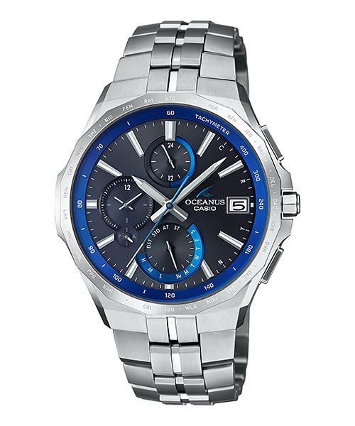 オシアナス OCEANUS カシオ CASIO OCW-S5000-1AJF マンタ Bluetooth搭載 正規品 腕時計
