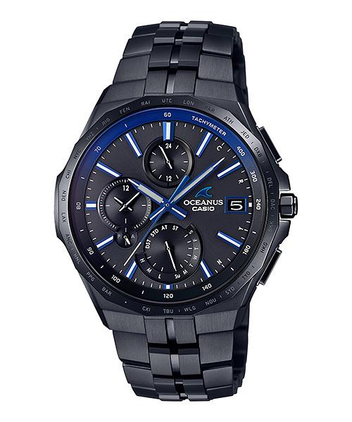 オシアナス OCEANUS カシオ CASIO OCW-S5000B-1AJF マンタ Bluetooth搭載 正規品 腕時計