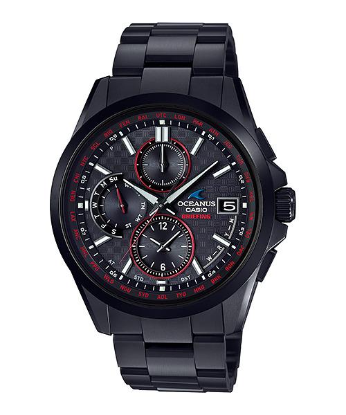 正規品 CASIO カシオ OCEANUS オシアナス OCW-T2610BR-1AJR BRIEFING(ブリーフィング) コラボモデル 腕時計