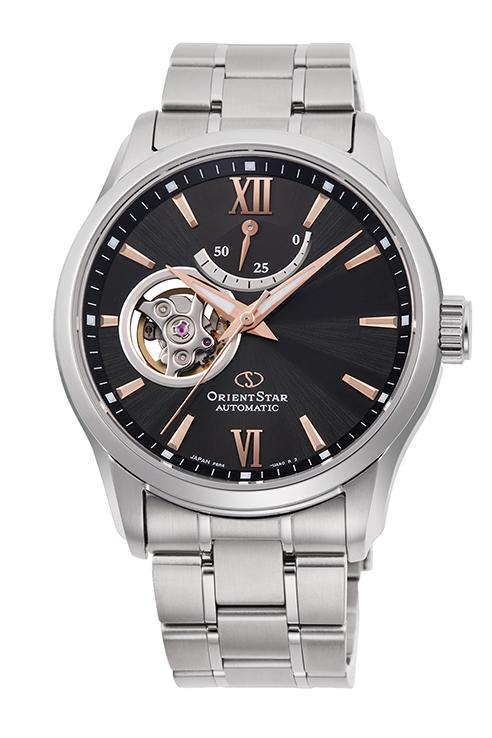 正規品 送料無料 予約販売品 機械式 メンズ オリエントスター セミスケルトン STAR 腕時計 ORIENT RK-AT0009N ハイクオリティ