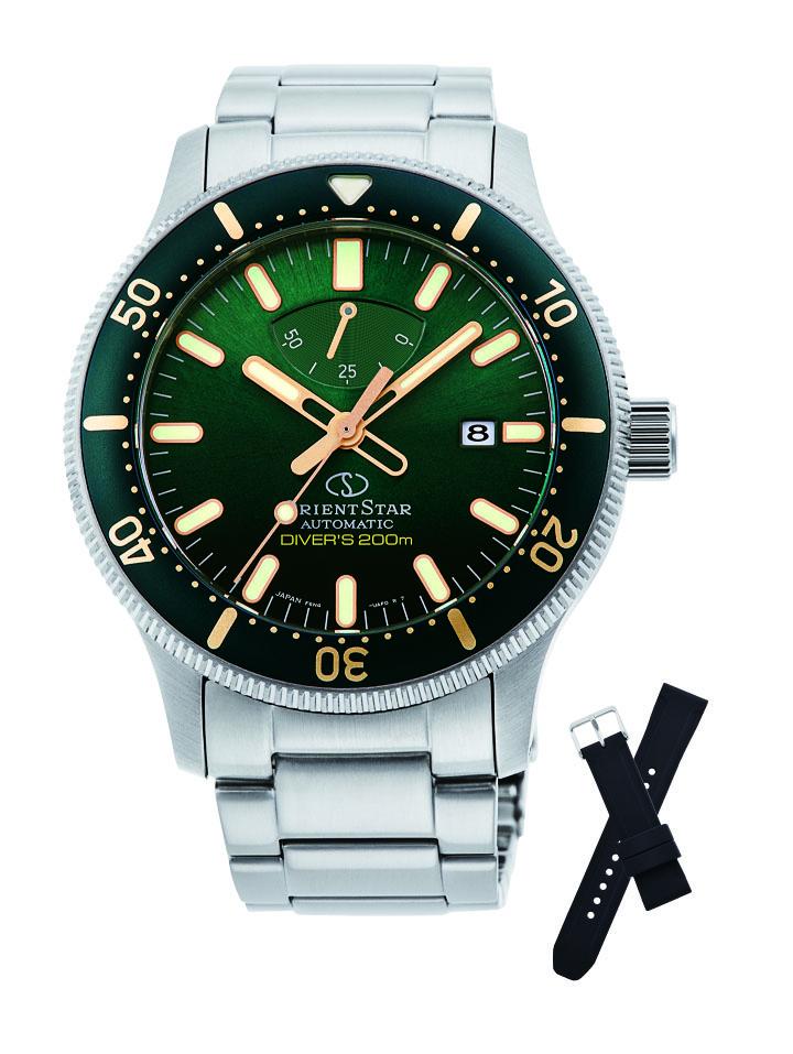 オリエントスター ORIENT STAR RK-AU0307E スポーツコレクション 替えベルト付属 正規品 腕時計
