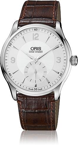 ORIS  Artelier Hand Winding Small Second  396 7580 4051D