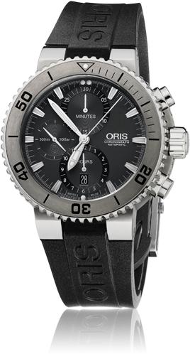 ORIS  Aquis Titan Chronograph  674 7655 7253R