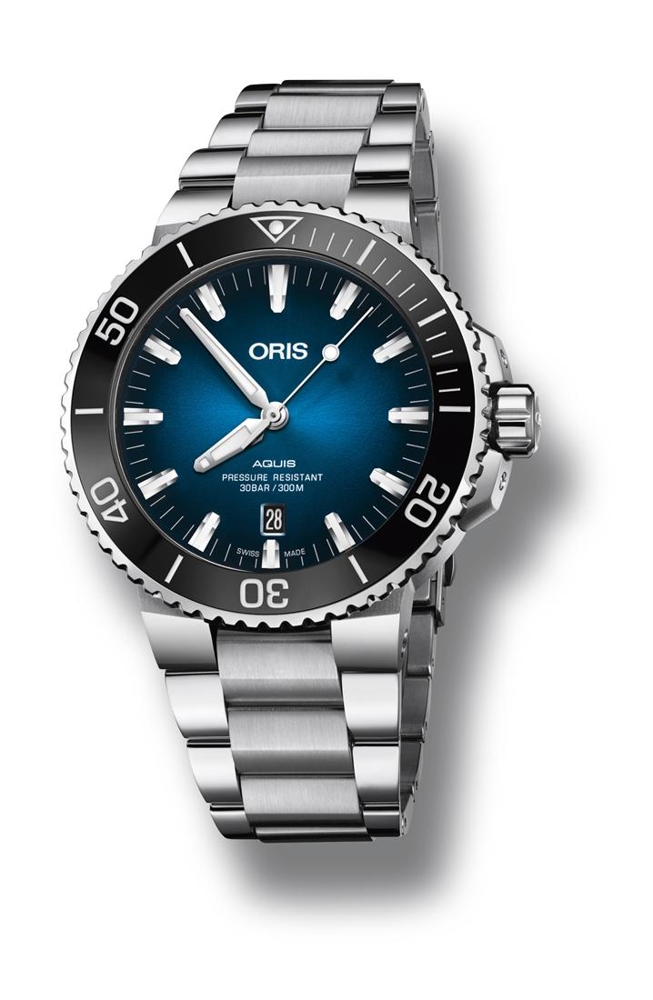 正規品 ORIS オリス 01 733 7730 4185-Set MB アクイス クリッパートン限定モデル 世界限定2000本 腕時計